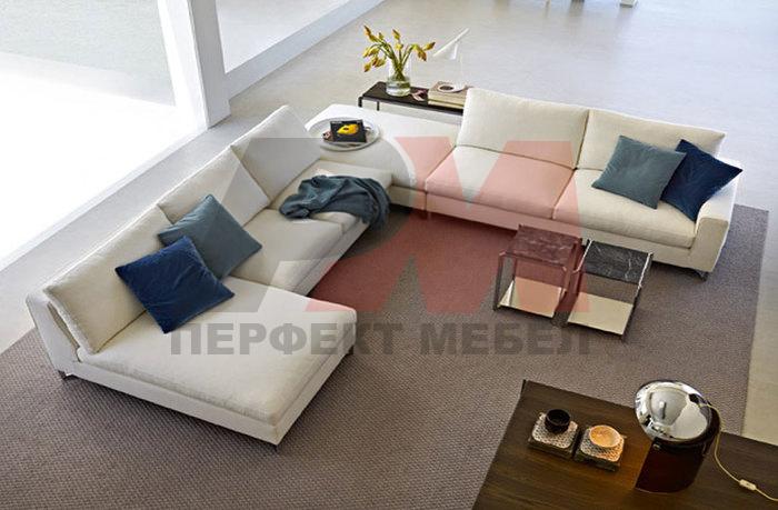 мека мебел изкуствена кожа по поръчка поткачествена