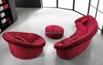луксозен заоблен диван по поръчка